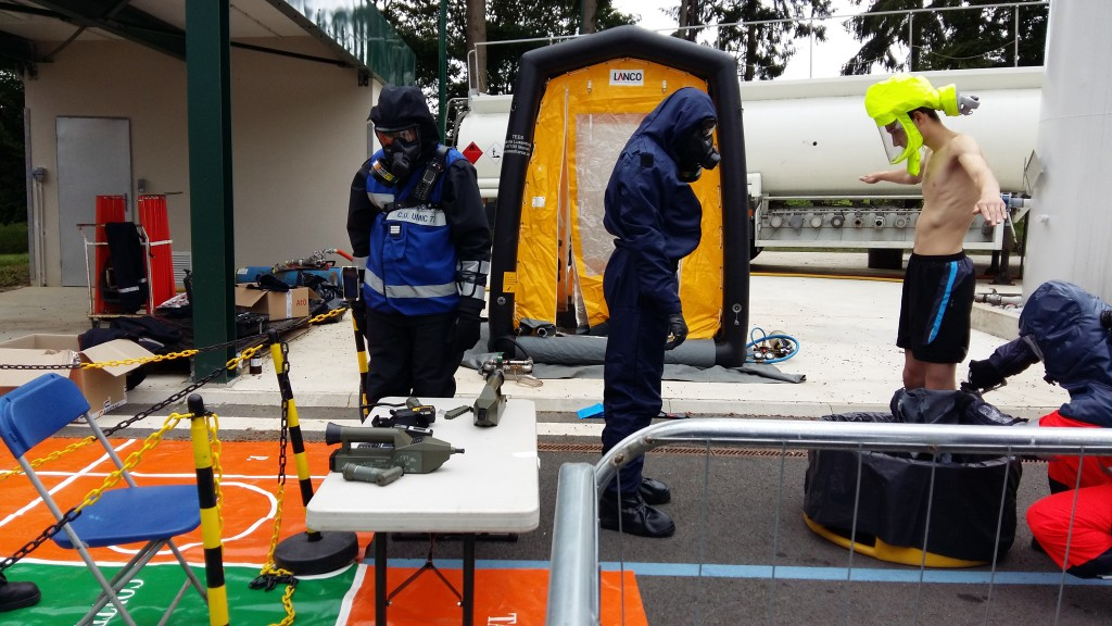 Chemical scenario in project EDEN field exercise