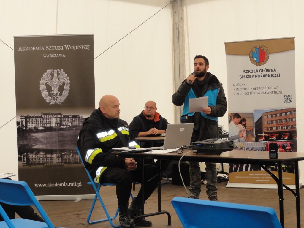 Demonstracja Systemu kompleksowego zabezpieczenia logistycznego wielopodmiotowych akcji ratowniczych