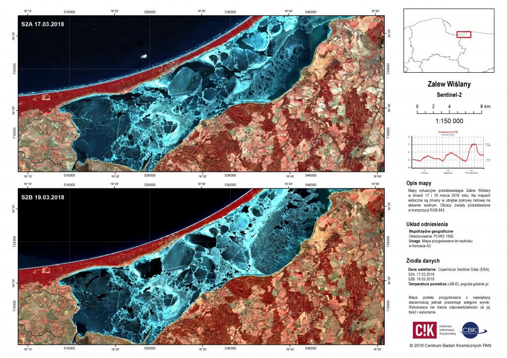 Situation maps of Vistula Lagoon and Vistula Mouth