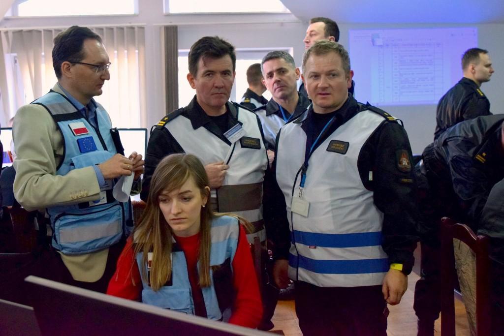 Ćwiczenia służb ratowniczych