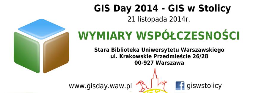 GIS DAY 2014 WARSAW