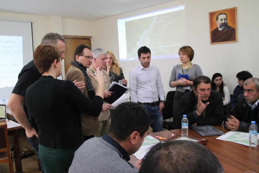 Crisis management exercise in Georgia