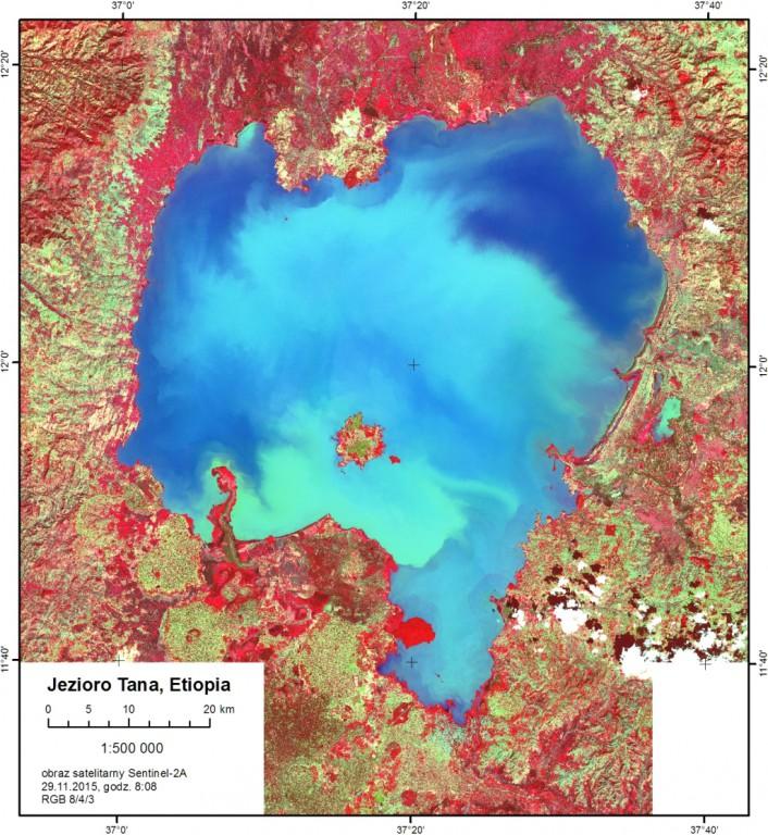 ESA otworzyła dostęp do danych Sentinel-2A